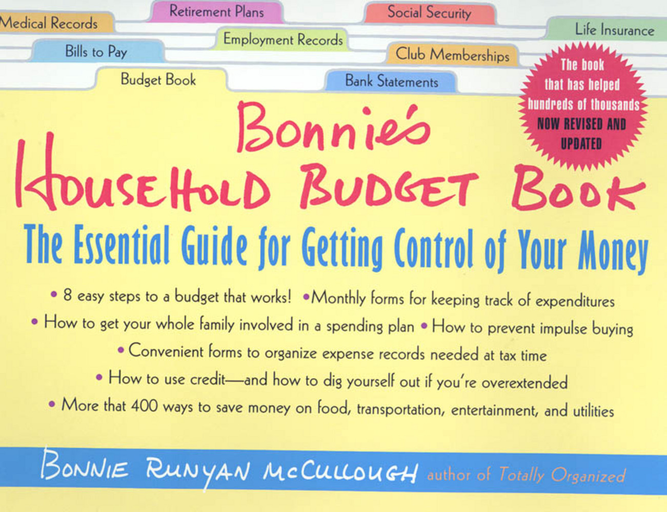 Bonnie's Household Budget Book