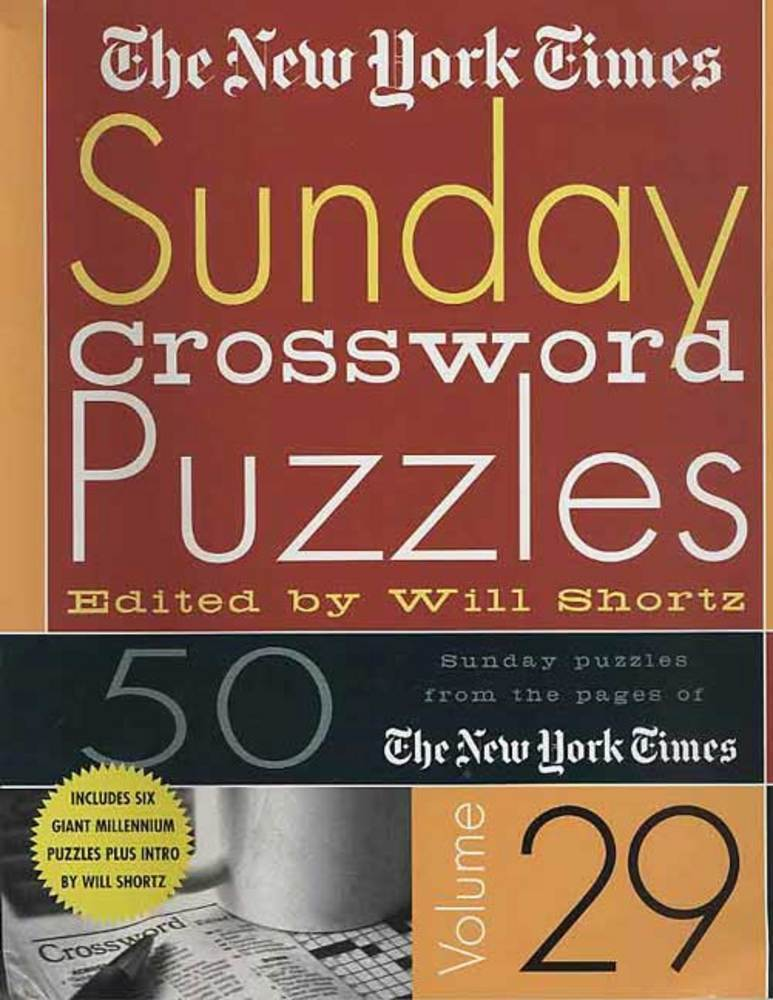 The New York Times Sunday Crossword Puzzles Volume 29