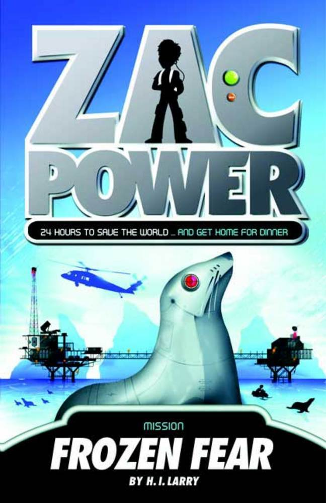 Zac Power #4: Frozen Fear