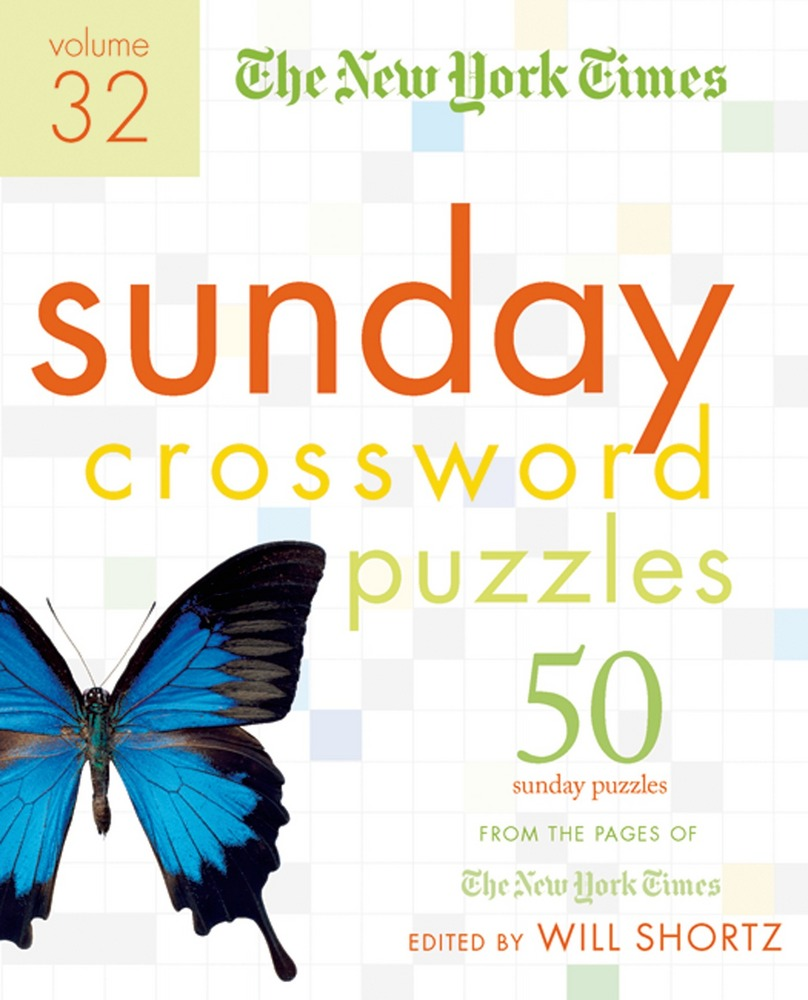 The New York Times Sunday Crossword Puzzles Volume 32