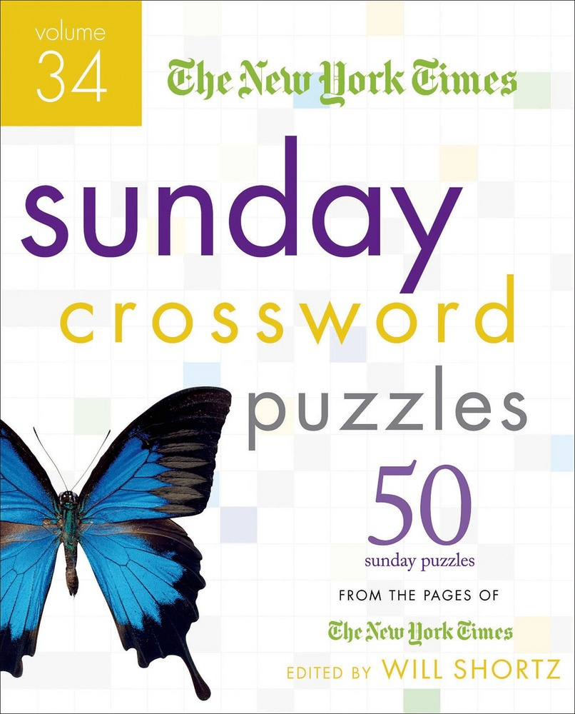 The New York Times Sunday Crossword Puzzles Volume 34