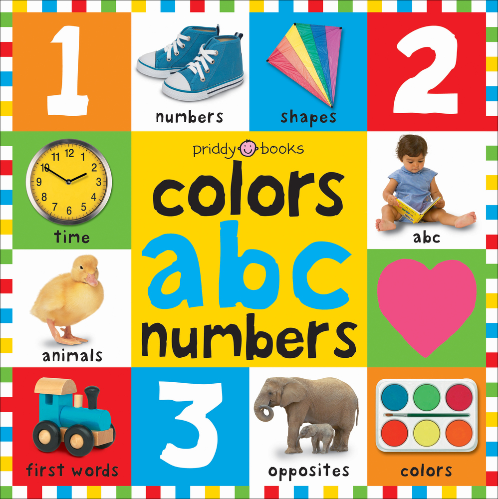 Big Board Books Colors, ABC, Numbers | Roger Priddy | Macmillan