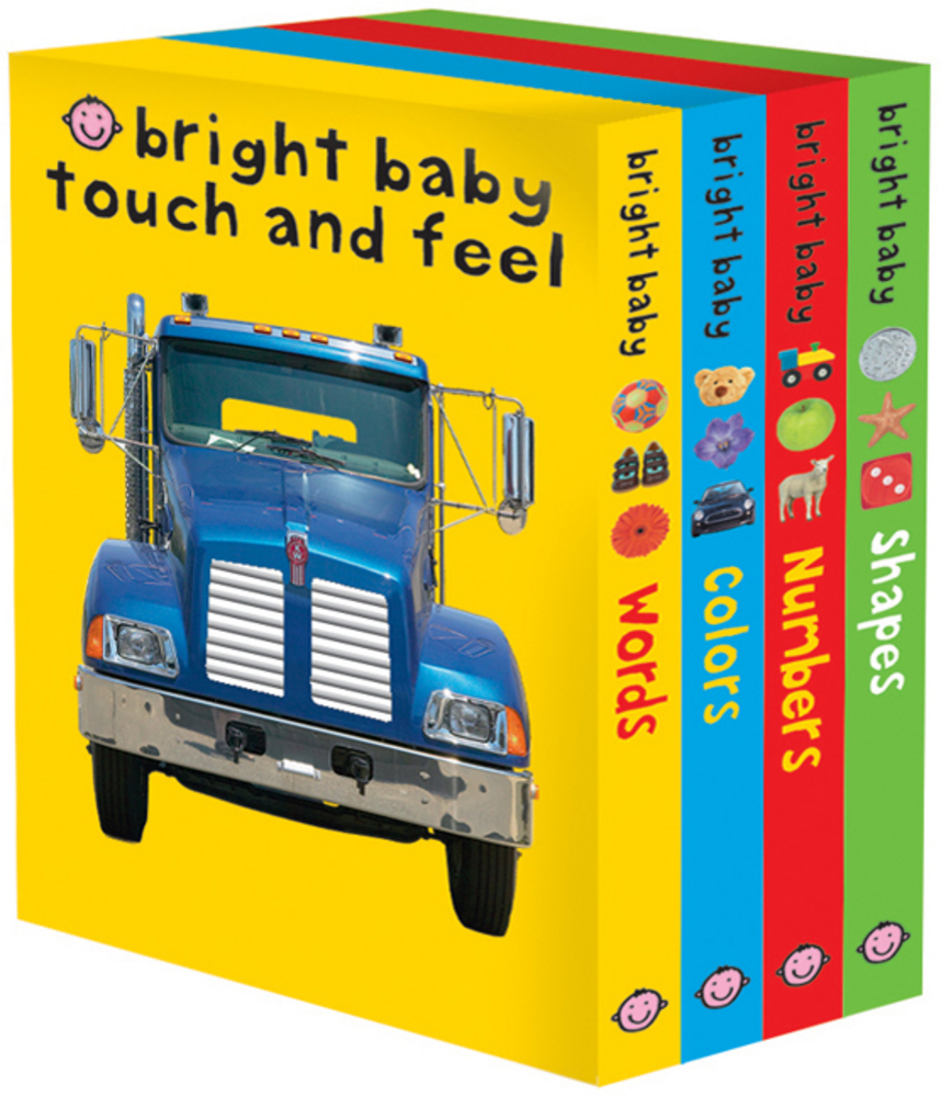 Bright Baby Touch Amp Feel Slipcase 2 Roger Priddy Macmillan
