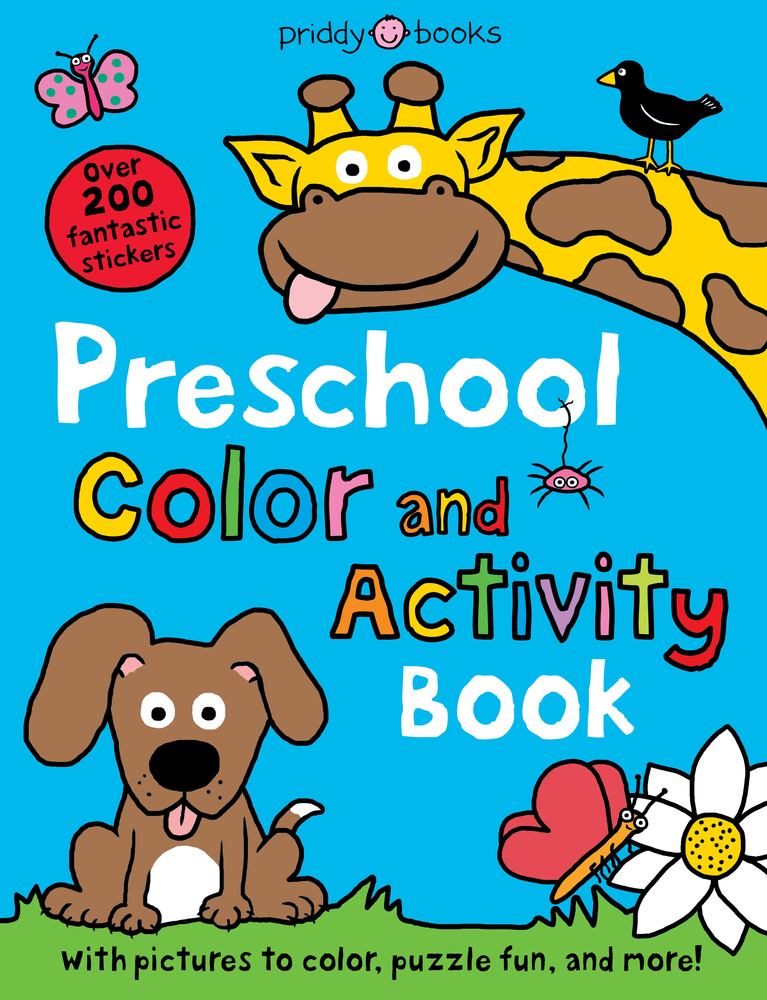 Preschool Color & Activity Book | Roger Priddy | Macmillan