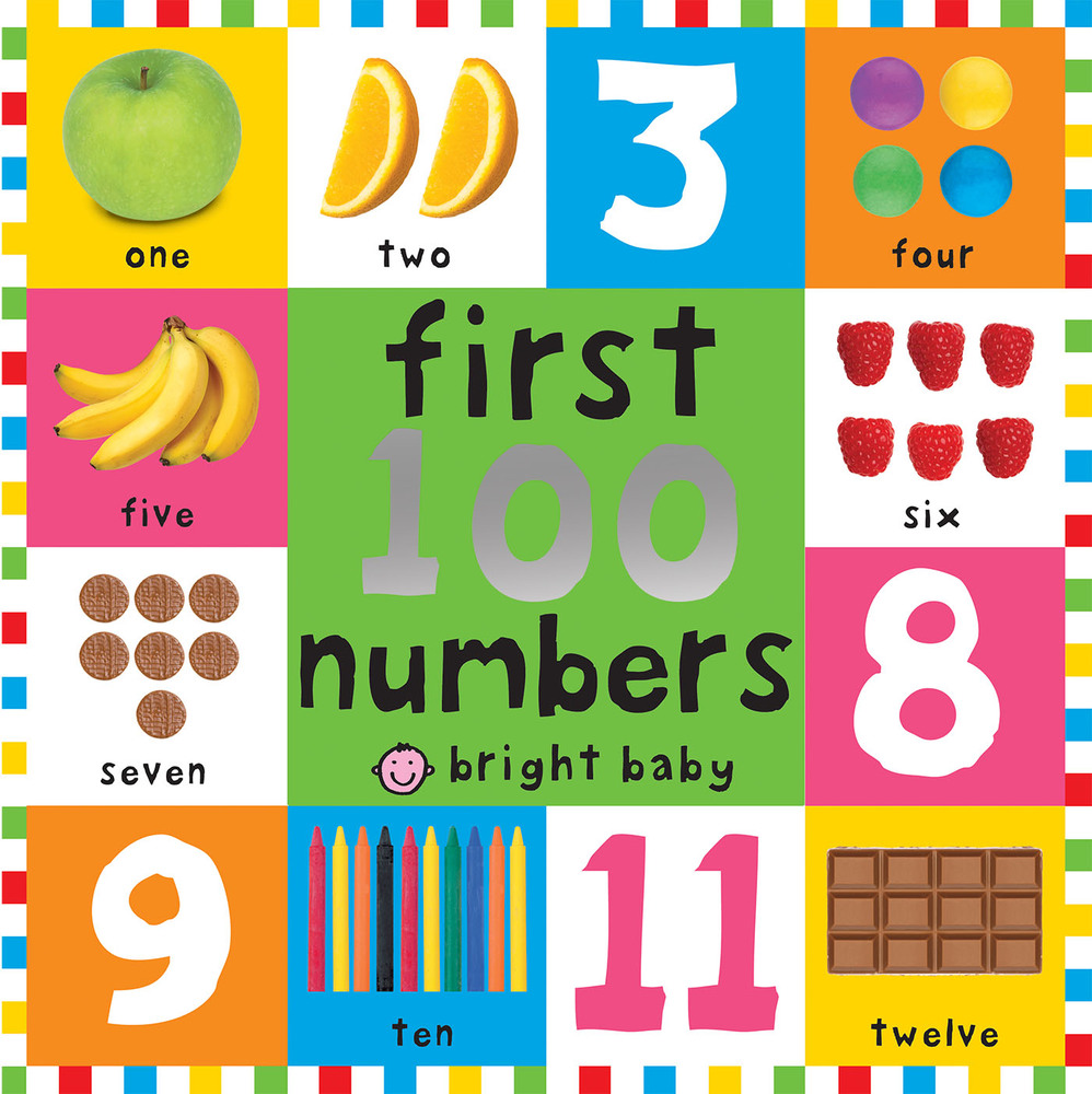 First 100 Board Books First 100 Numbers