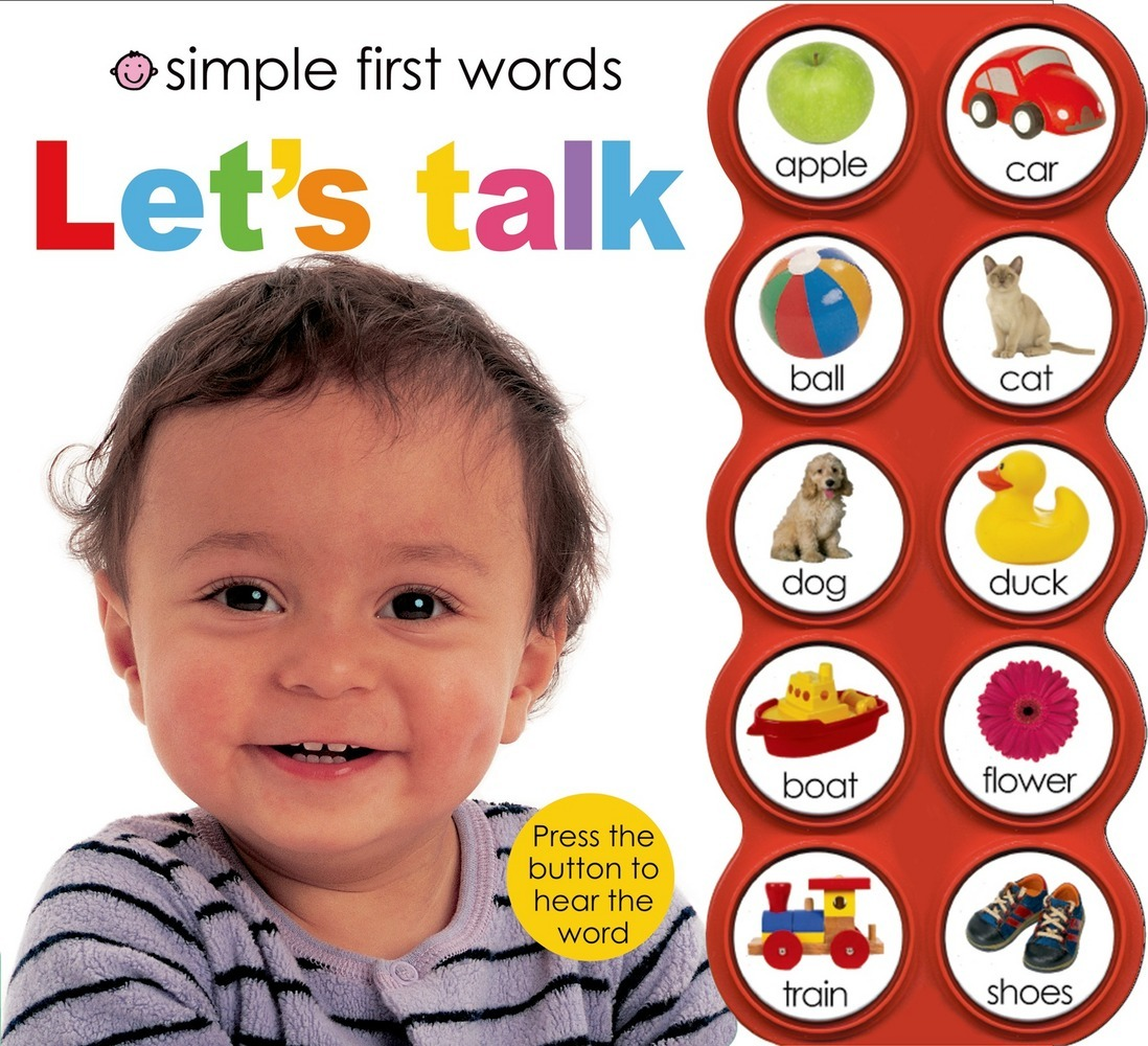 Simple First Words Let's Talk : Priddy Books