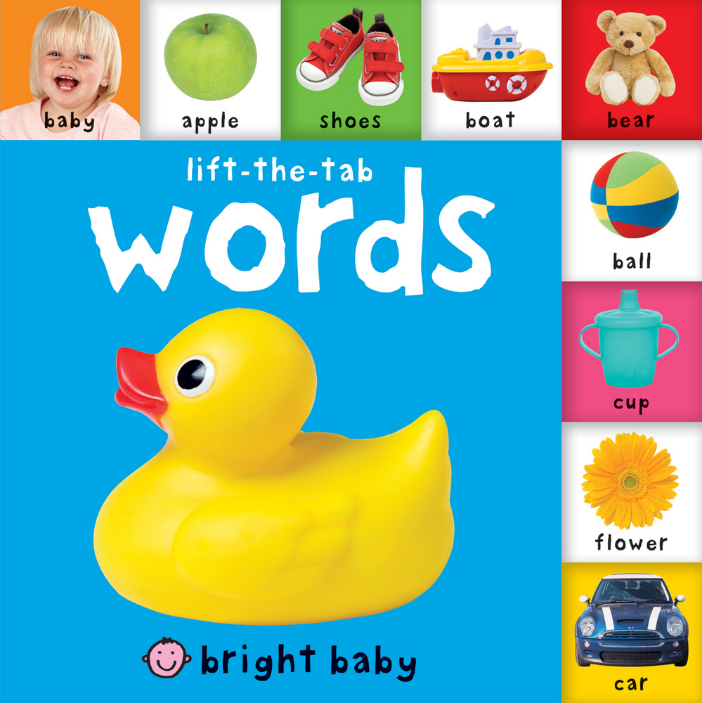 Bright Baby Lift-the-Tab: Words