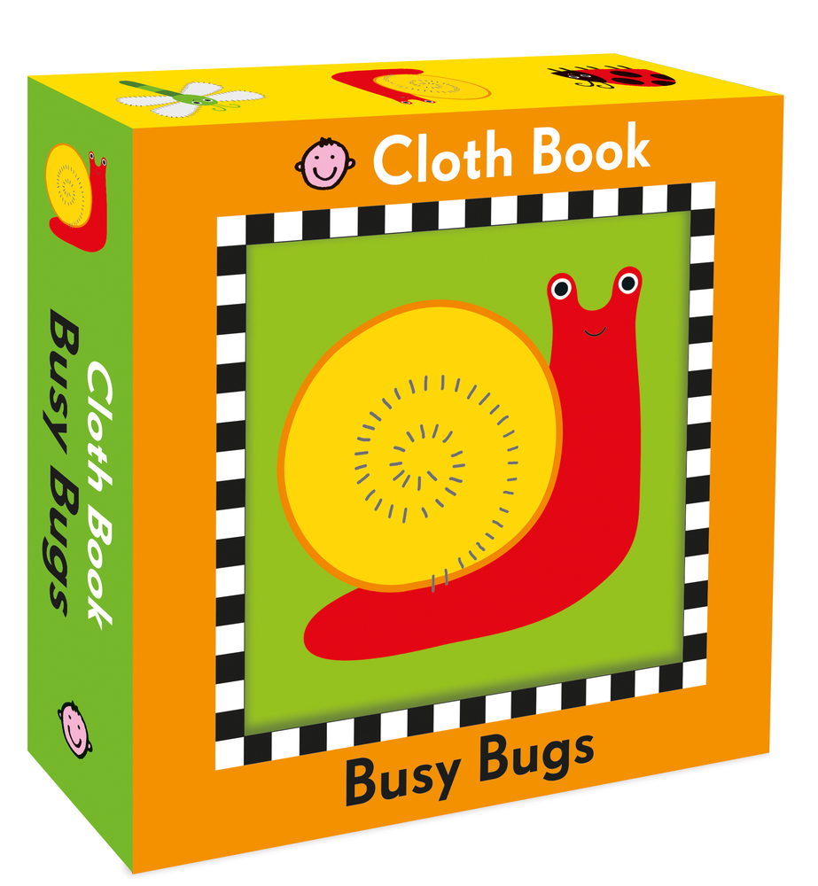 Busy Bugs Cloth Book