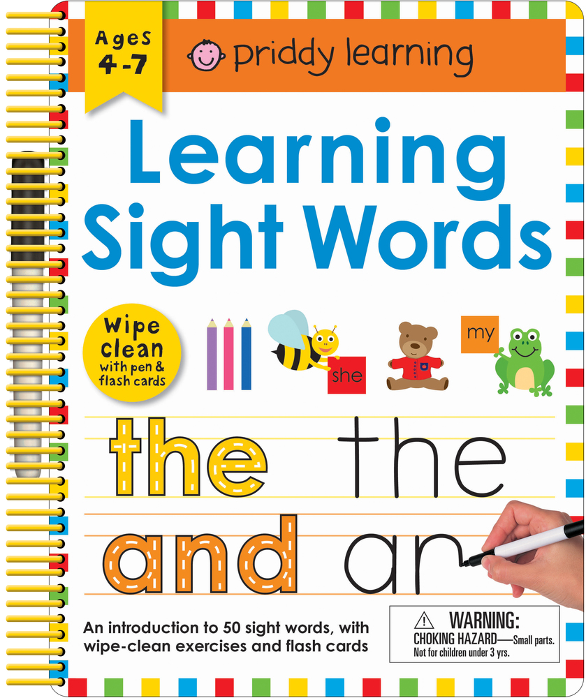 Wipe Clean: Learning Sight Words : Priddy Books