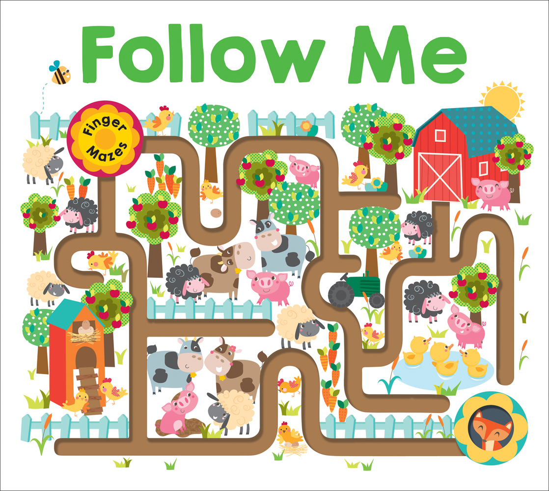 Maze Book: Follow Me