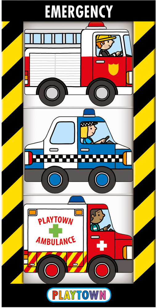 Playtown Chunky Pack: Emergency