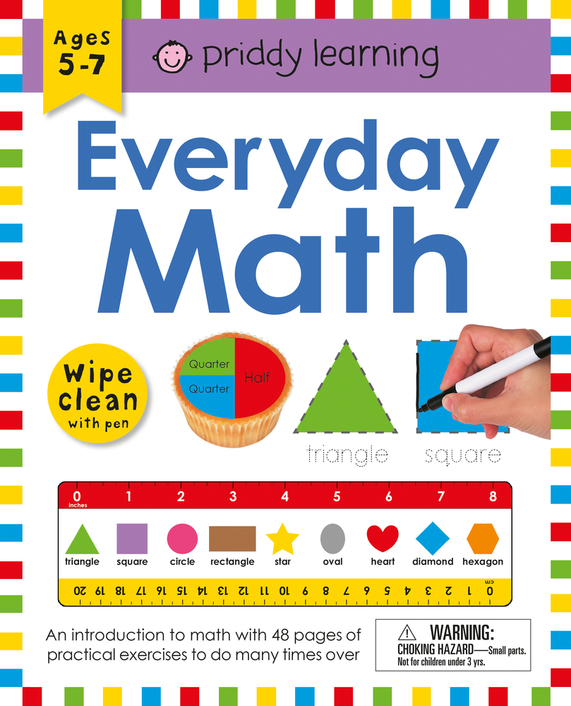 Wipe Clean Workbook: Everyday Math (enclosed spiral binding) | Roger ...