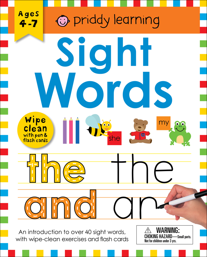 Wipe Clean Workbook: Sight Words (enclosed spiral binding)