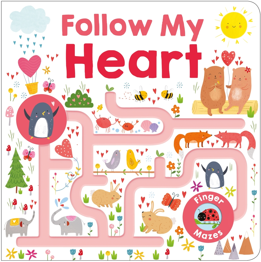 Maze Book: Follow My Heart
