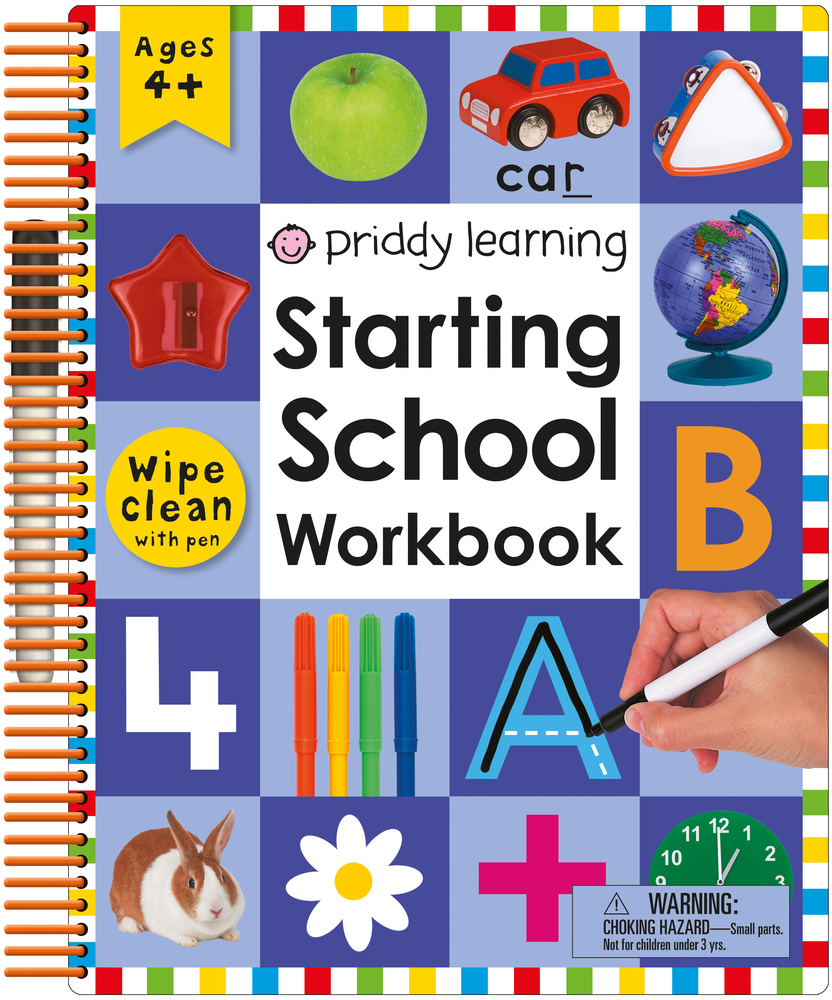 Wipe Clean: Starting School Workbook