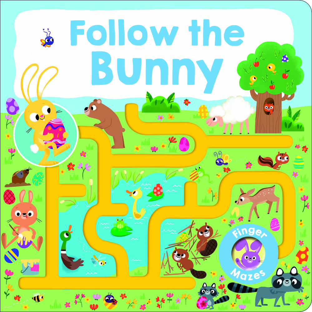 Maze Book: Follow the Bunny