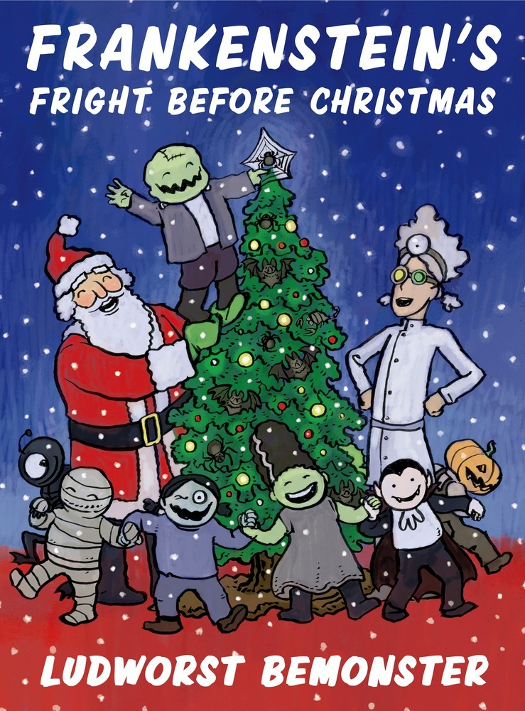 frankensteins fright before christmas - Halloween And Christmas