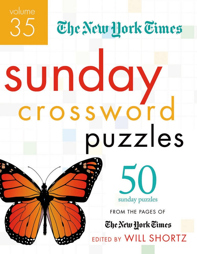 The New York Times Sunday Crossword Puzzles Volume 35