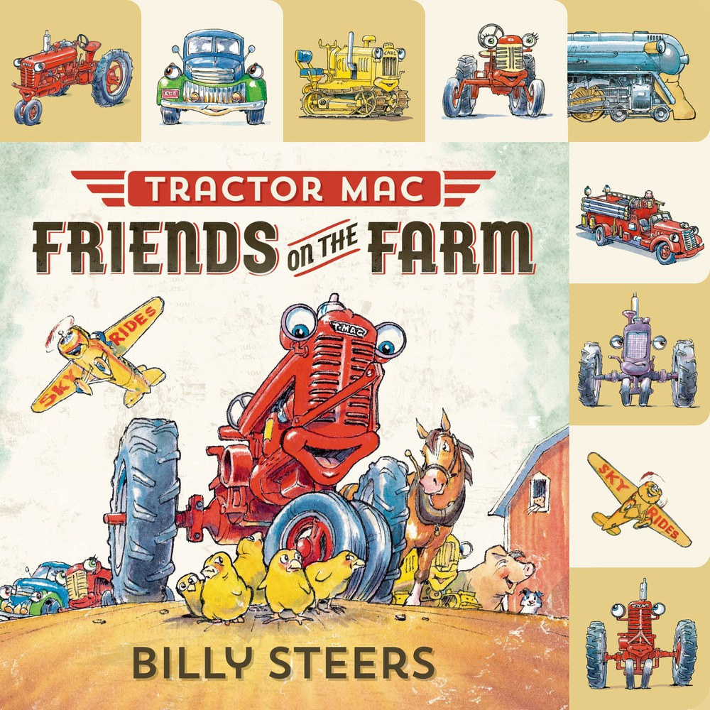 Lift the flap tab tractor mac friends on the farm for Square fish publishing