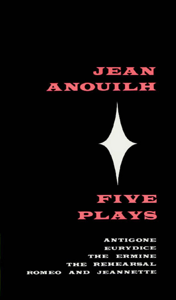 Five Plays Jean Anouilh Macmillan