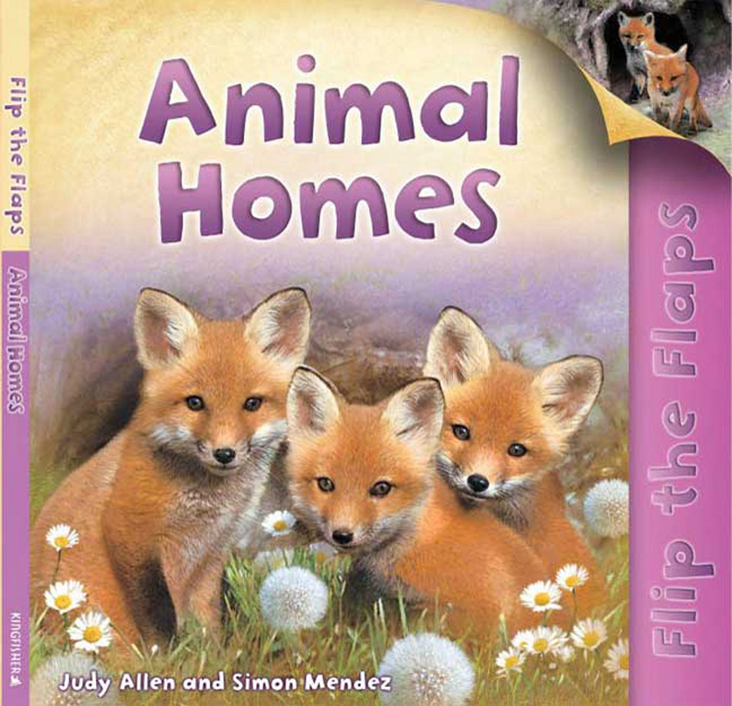 Flip The Flaps: Animal Homes