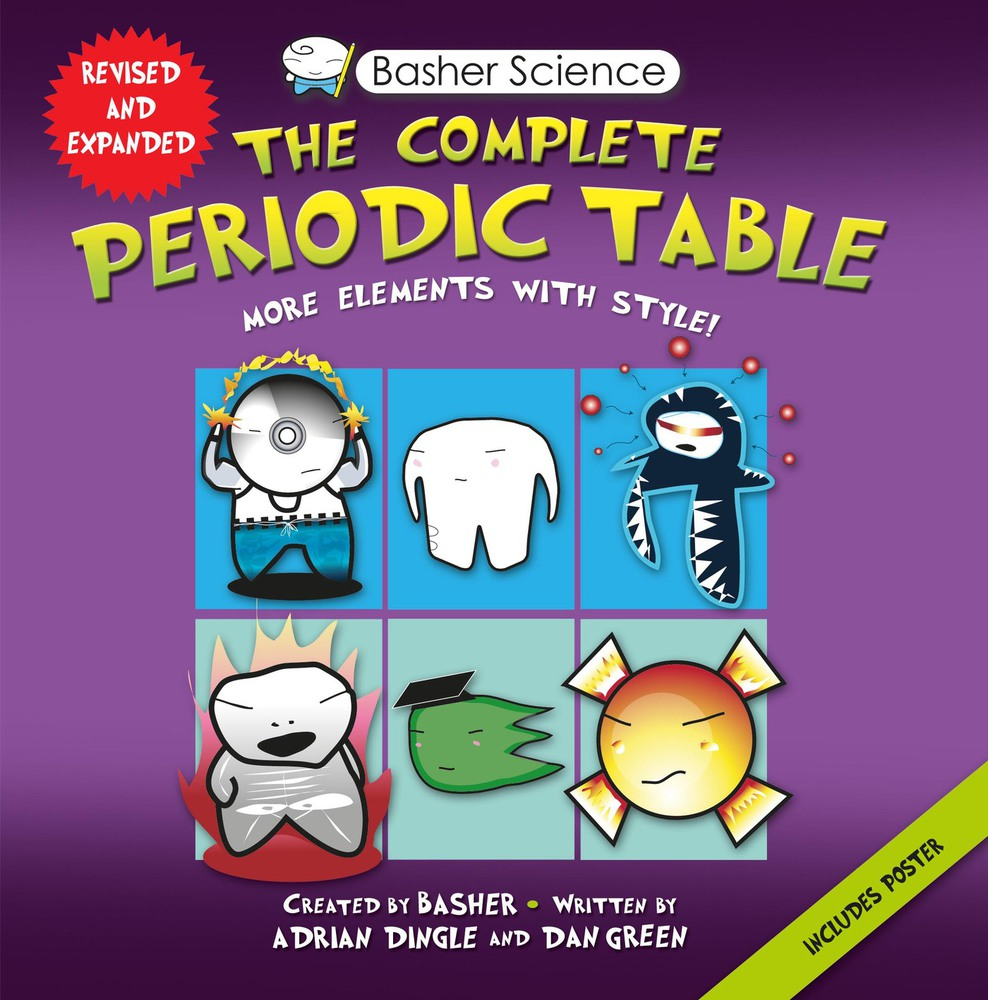Basher science the complete periodic table adrian dingle basher science the complete periodic table gamestrikefo Image collections