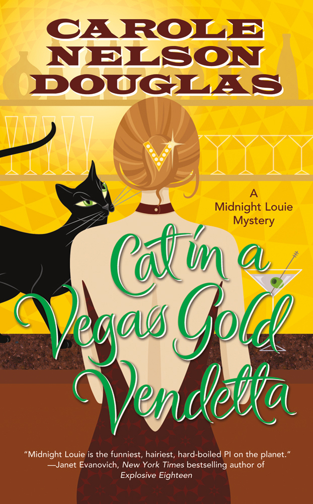 Cat in a Vegas Gold Vendetta