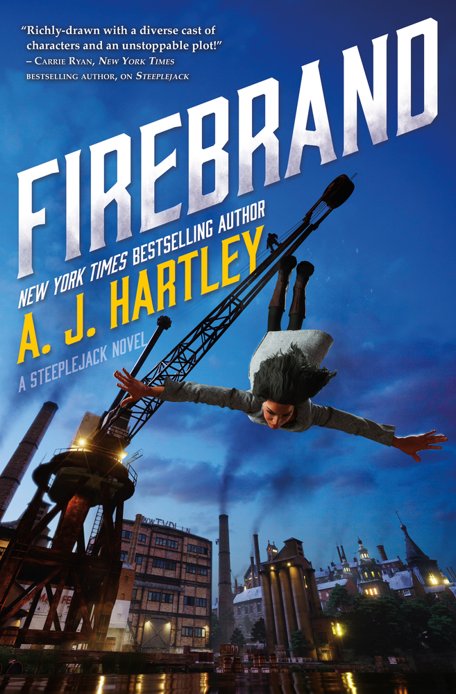 Firebrand by A. J. Hartley