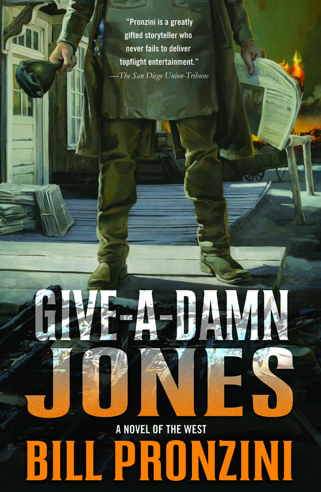 Give-a-Damn Jones by Bill Pronzini