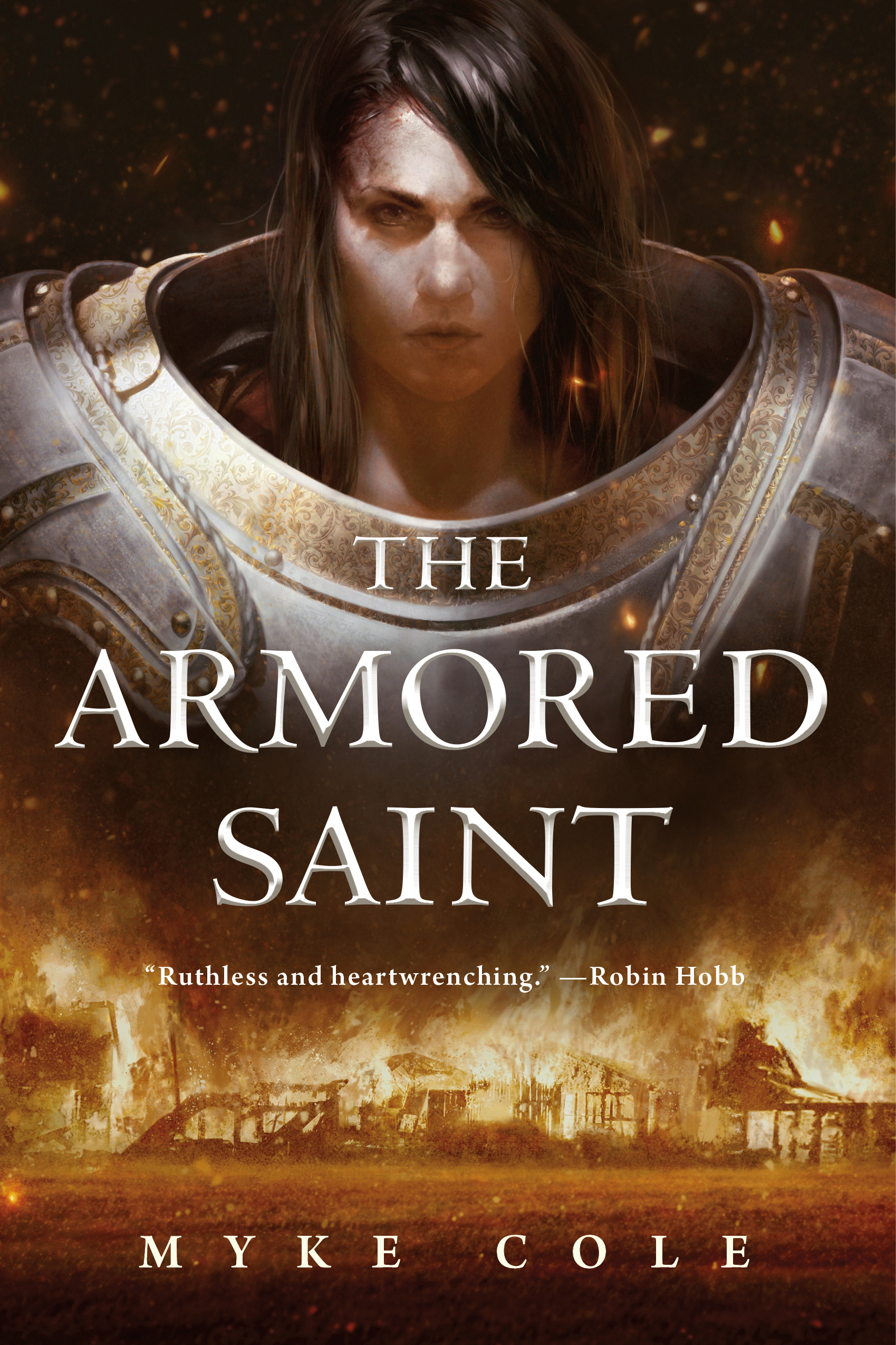 The Cover of Myke Cole's novel, The Armored Saint