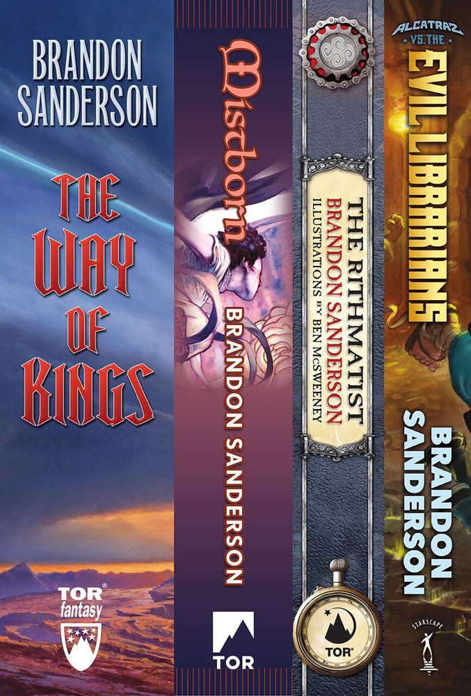 Brandon Sanderson's Fantasy Firsts