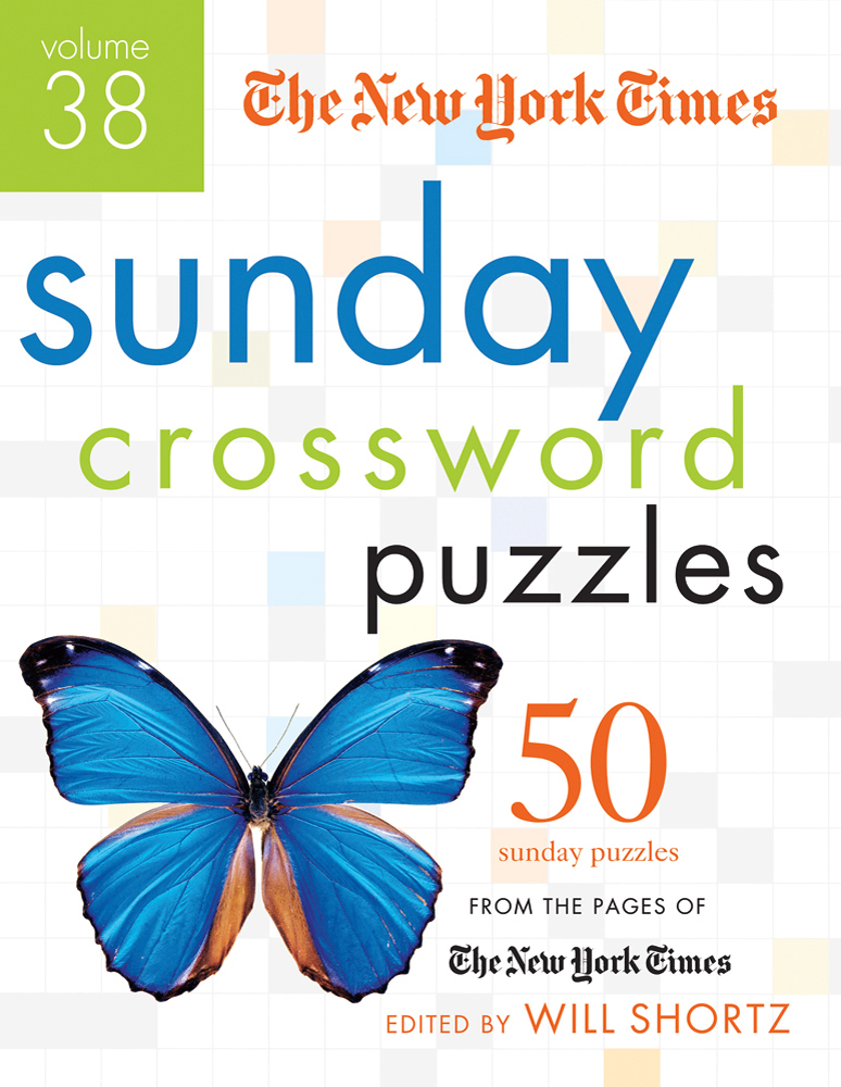 The New York Times Sunday Crossword Puzzles Volume 38