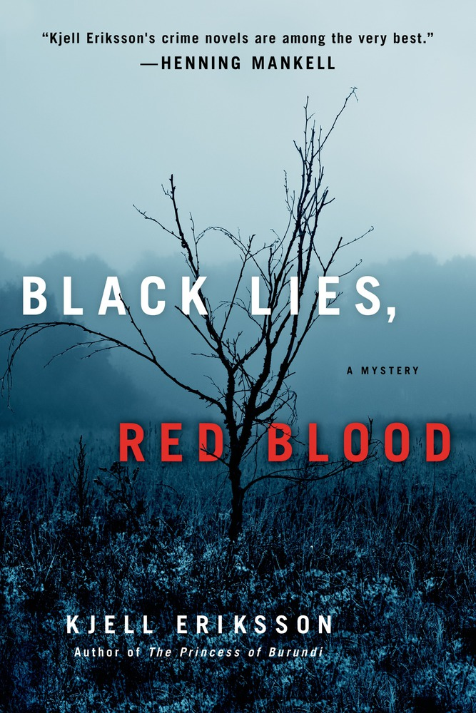 Black Lies Red Blood A Mystery Ann Lindell Mysteries