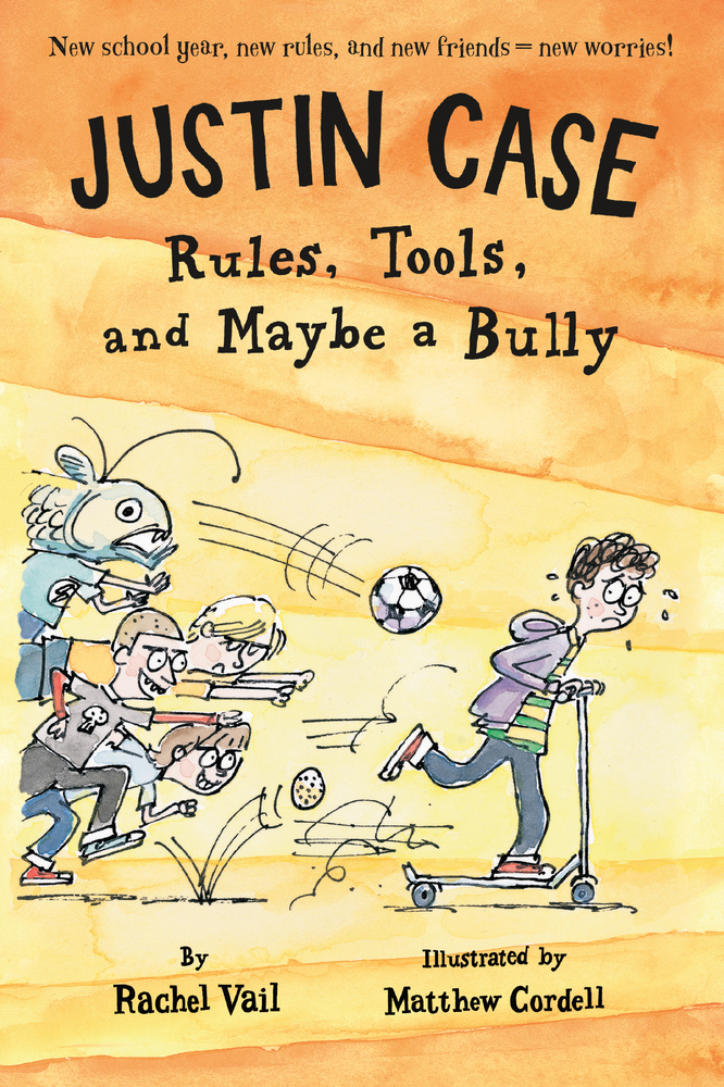 Justin Case: Rules, Tools, and Maybe a Bully