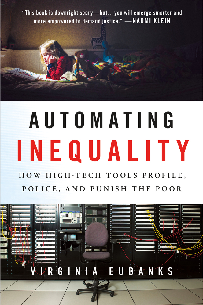 Automating Inequality, by Virginia Eubanks (book cover)