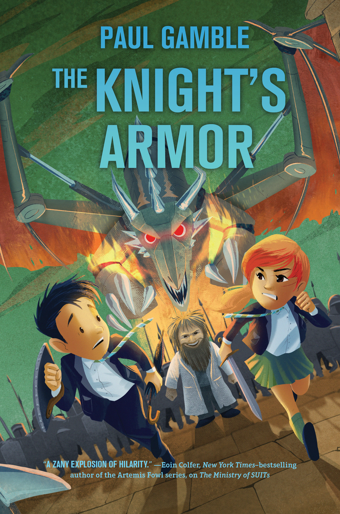The Knight's Armor: Book 3 Of The Ministry Of SUITs