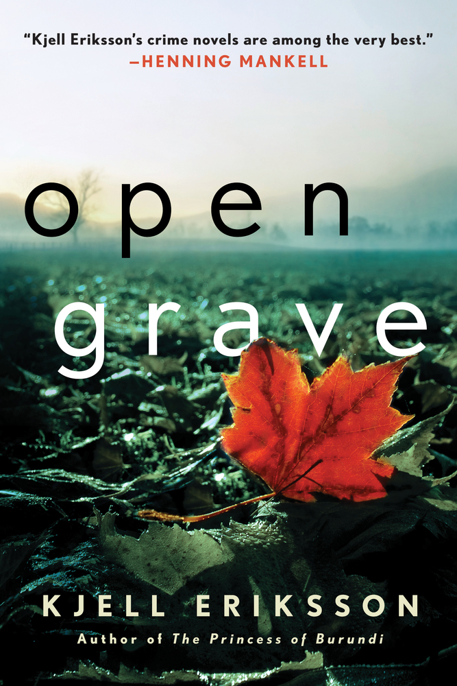 Open Grave A Mystery Ann Lindell Mysteries