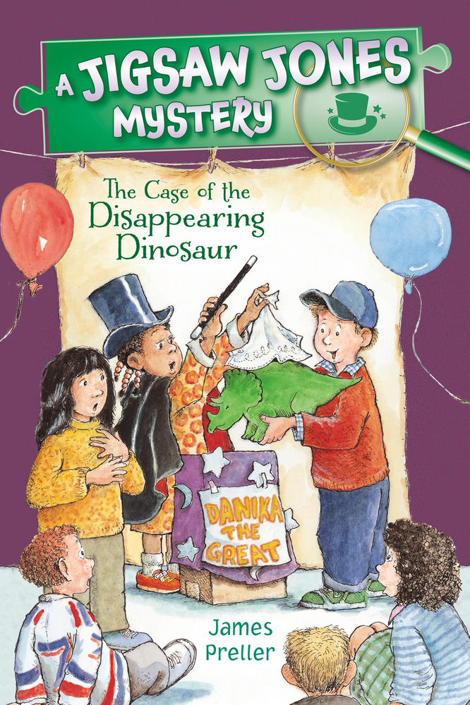 Jigsaw Jones: The Case of the Disappearing Dinosaur