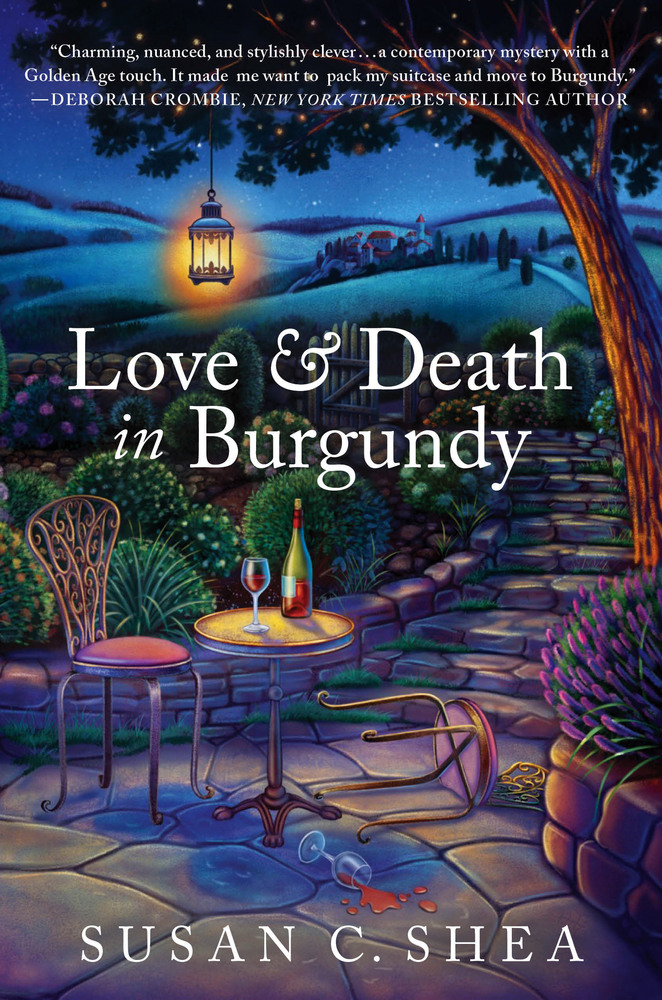 Love & Death in Burgundy by Susan C. Shea