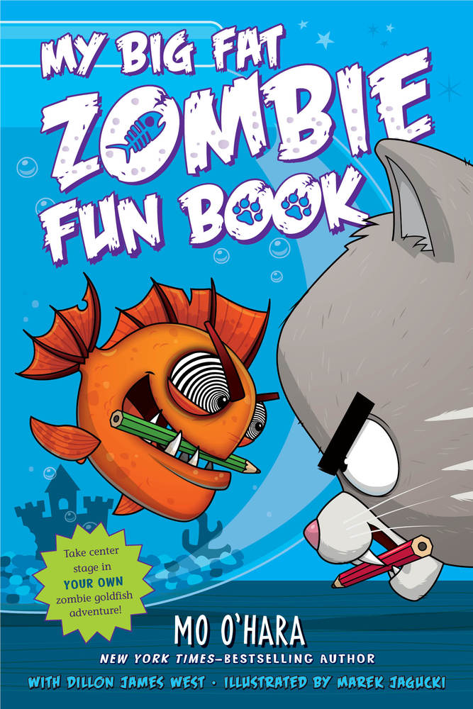 My Big Fat Zombie Fun Book | Mo O'Hara | Macmillan