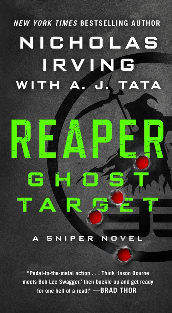 Reaper: Ghost Target by Nicholas Irving with A. J. Tata
