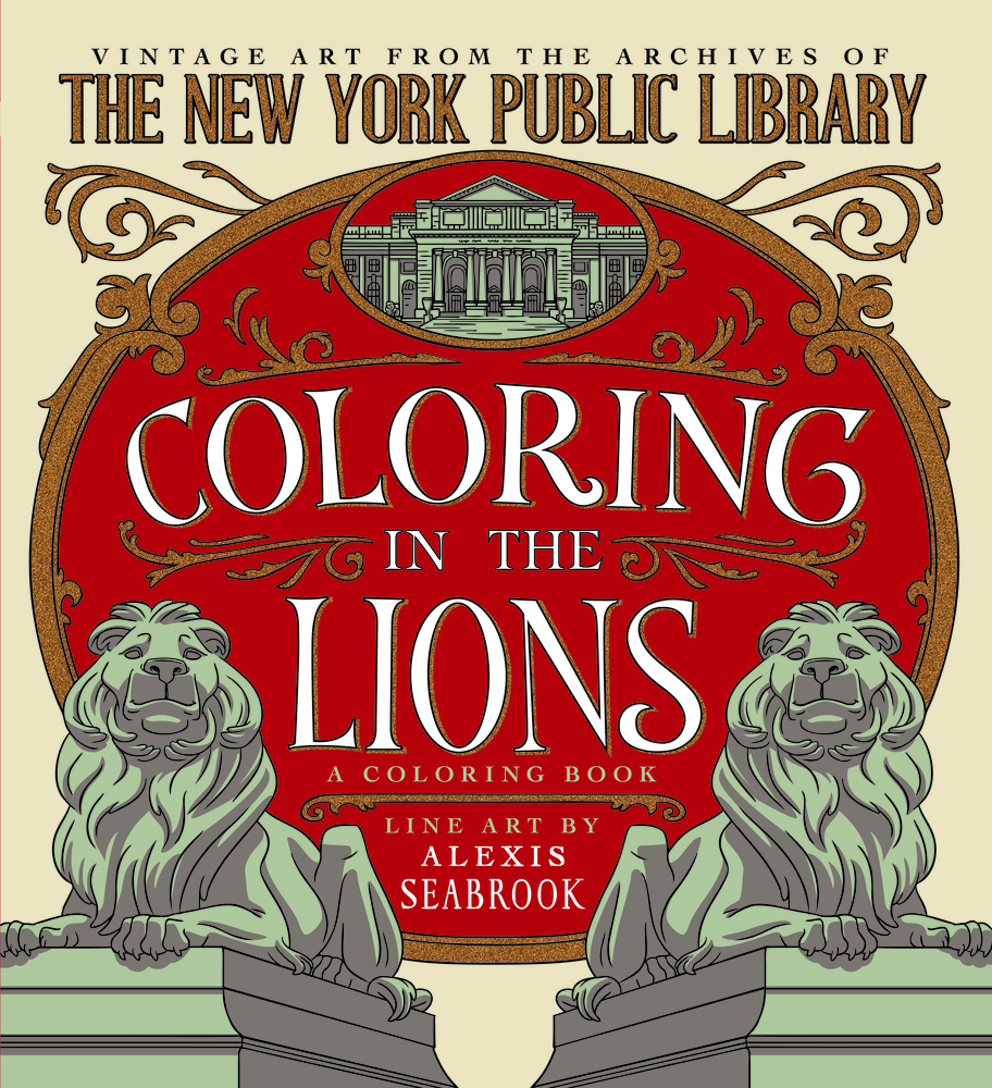 Coloring In The Lions A Book