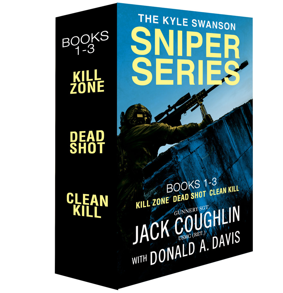 The Kyle Swanson Sniper Series, Books 1-3