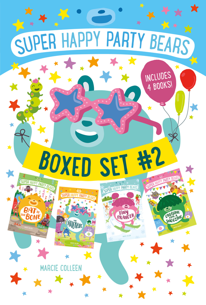 Super Happy Party Bears Boxed Set #2