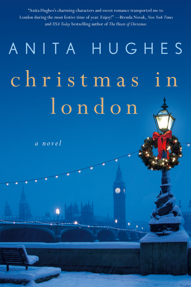 Christmas in London by Anita Hughes