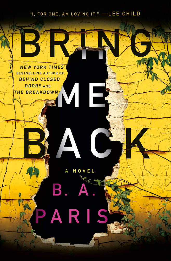 Image result for Bring me back by B A Paris