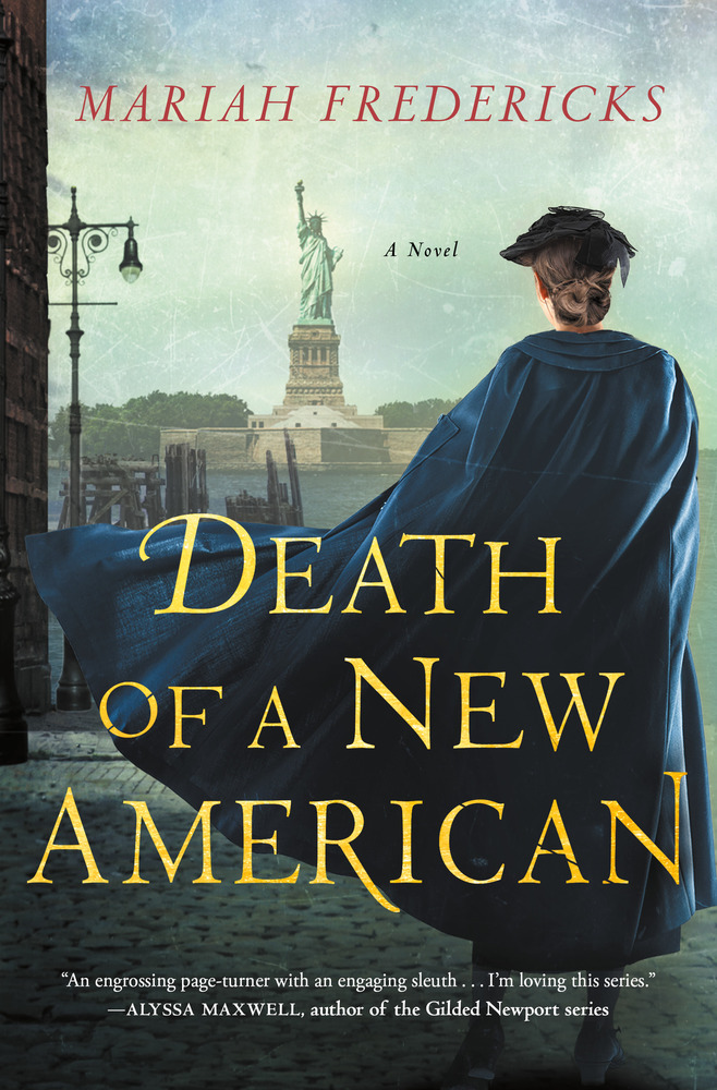Death of a New American by Mariah Fredericks
