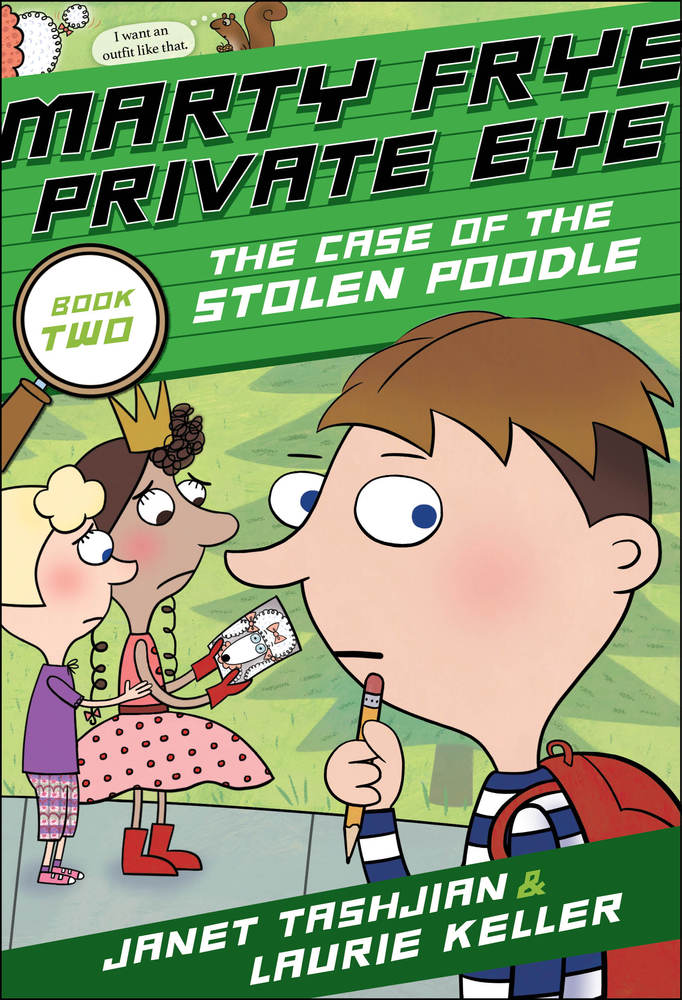 Marty Frye, Private Eye: The Case of the Stolen Poodle