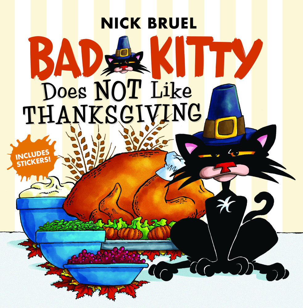 Bad Kitty Does Not Like Thanksgiving Nick Bruel Macmillan Channels are a simple, beautiful way to showcase and watch videos. bad kitty does not like thanksgiving