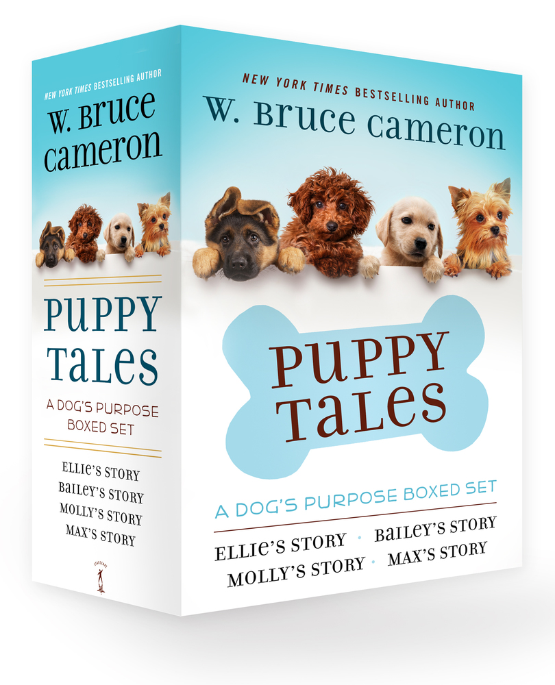 Stories Tales Go Dog Go: Puppy Tales: A Dog's Purpose 4-Book Boxed Set